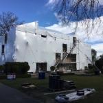 Shrink Wrap Christchurch, Building Wrap Canterbury Erect Scaffolding Ltd