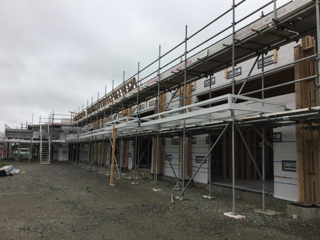 Roof Edge Protection Scaffolding Christchurch Canterbury Area