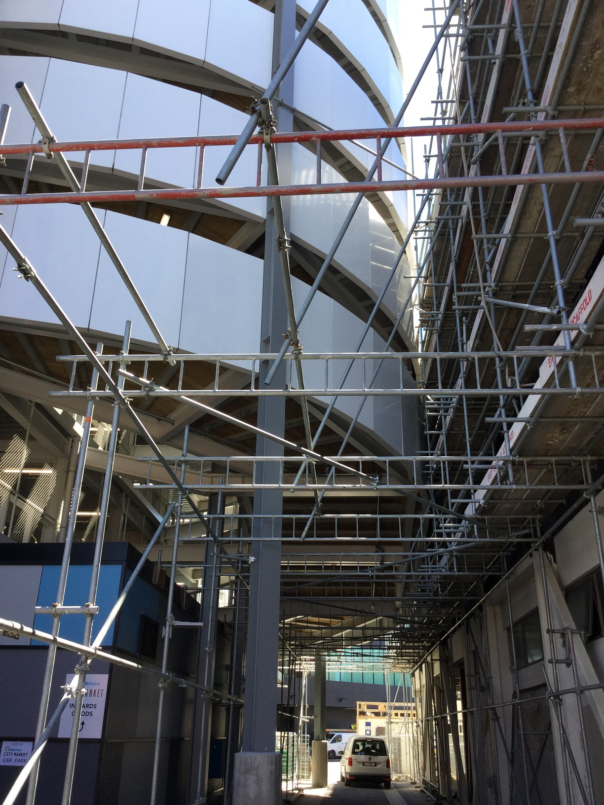 Full Scaffolding Services Christchurch Canterbury Erect Scaffolding