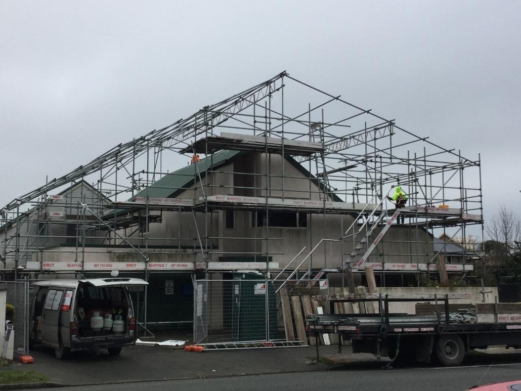 Shrink Wrap Building Wrap Canterbury Region